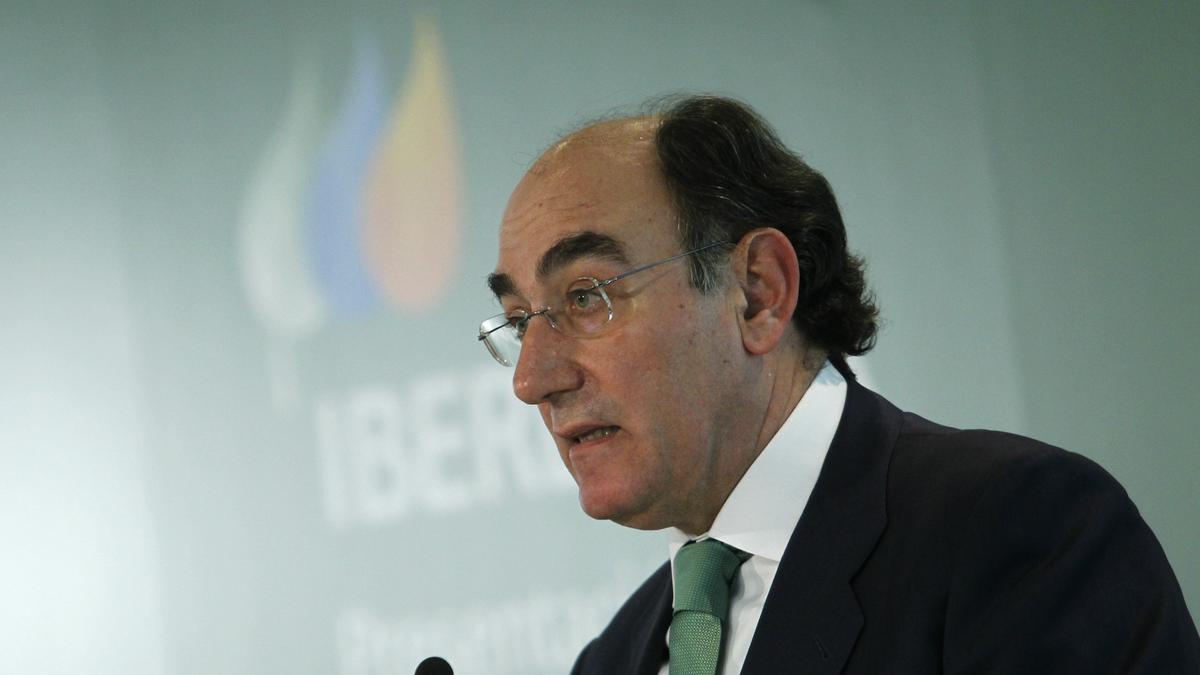 Ignacio Sánchez Galán, presidente de Iberdrola, en una imagen de archivo.