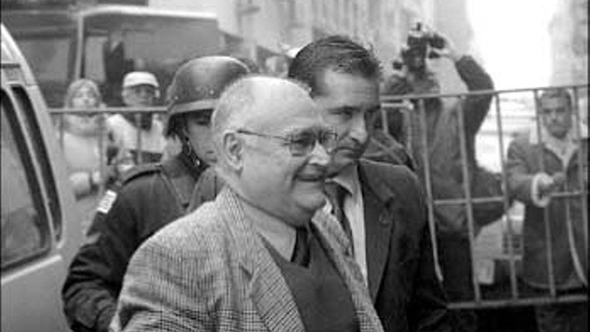 El represor uruguayo José Nino Gavazzo