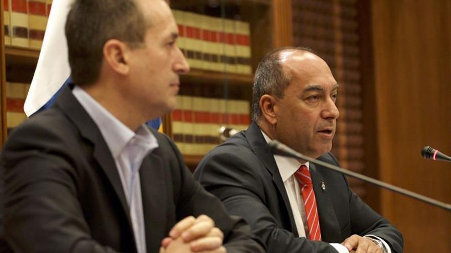 José Miguel Ruano y Julio Cruz (EUROPA PRESS)
