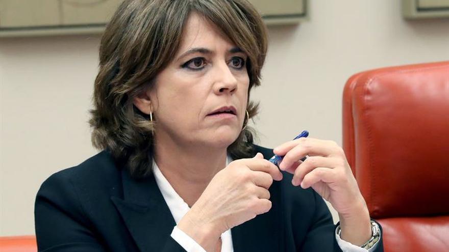 """Delgado asegura que la autonomía de la Fiscalía """"es una línea roja"""" para el Gobierno"""