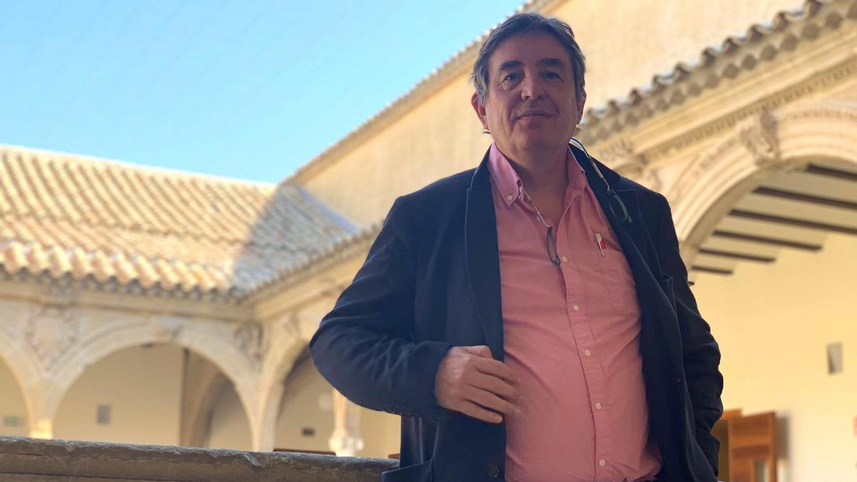 García Montero, durante la entrevista con eldiario.es/andalucia en Baeza.