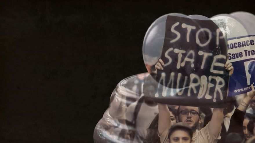 Un joven protesta contra la pena de muerte. | Amnistía Internacional