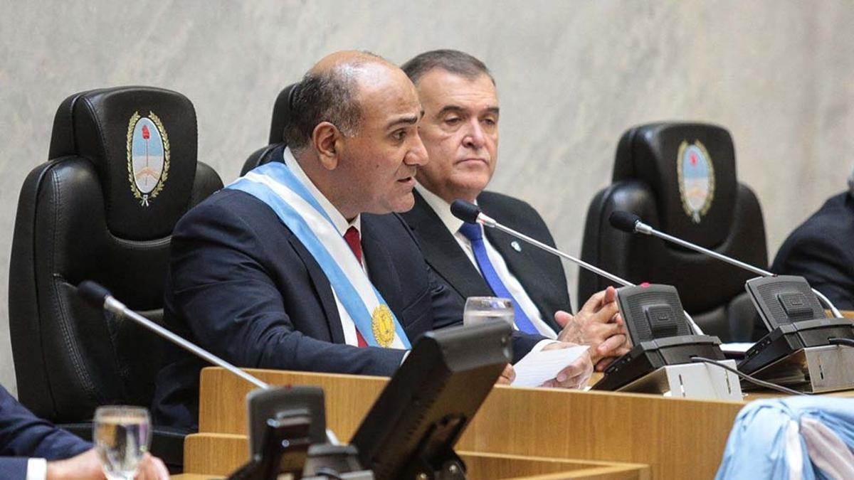 Juan Manzur y Osvaldo Jaldo. Enemigos íntimos.