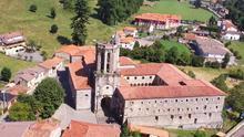 Convento de Nuestra Señora del Soto, en el Valle de Toranzo.