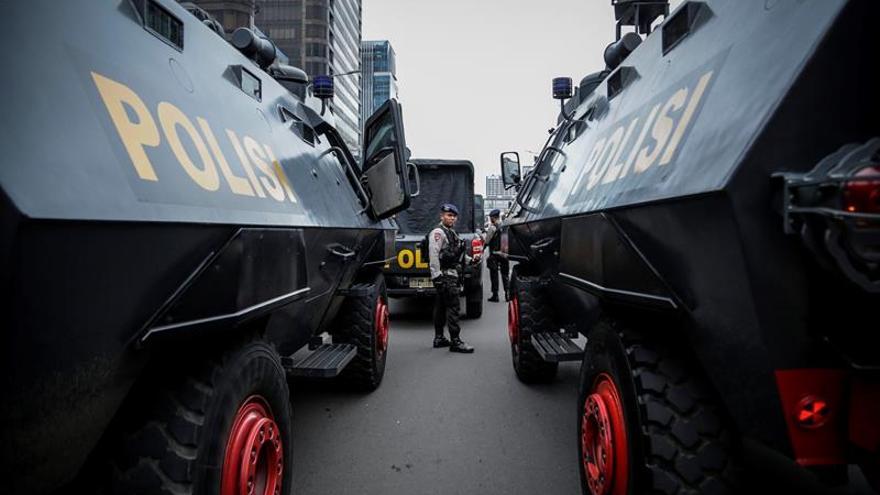 Tres muertos y un detenido en una operación antiterrorista en Indonesia