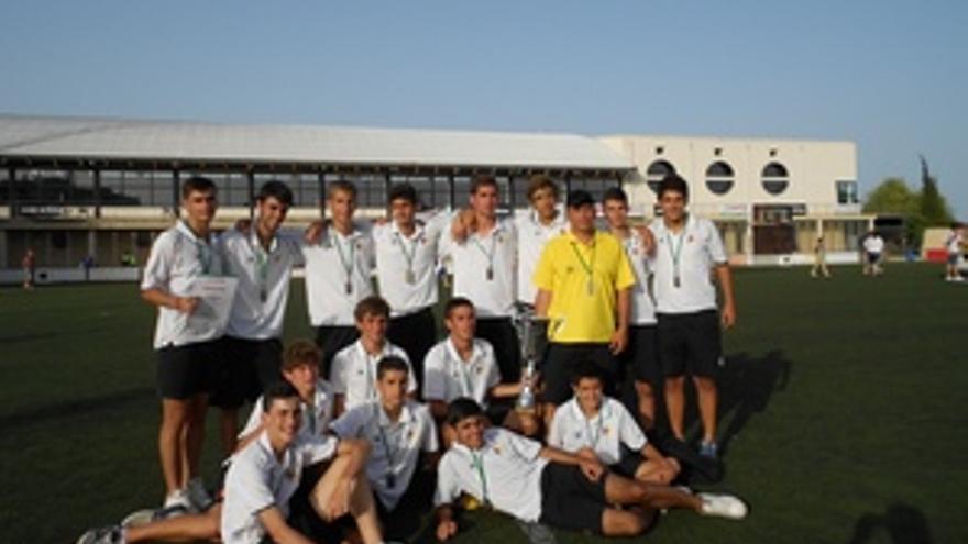 El equipo juvenil del Heidelberg.