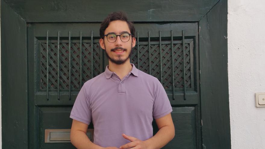 Daniel Tovar tiene 20 años y es estudiante de Ciencias Políticas. Foto: LUZ RODRÍGUEZ.