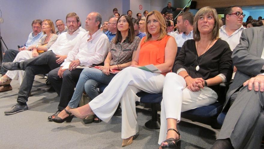 """Susana Díaz exige a Rajoy que desencalle la investidura: """"Esta vez tiene que trabajar"""""""