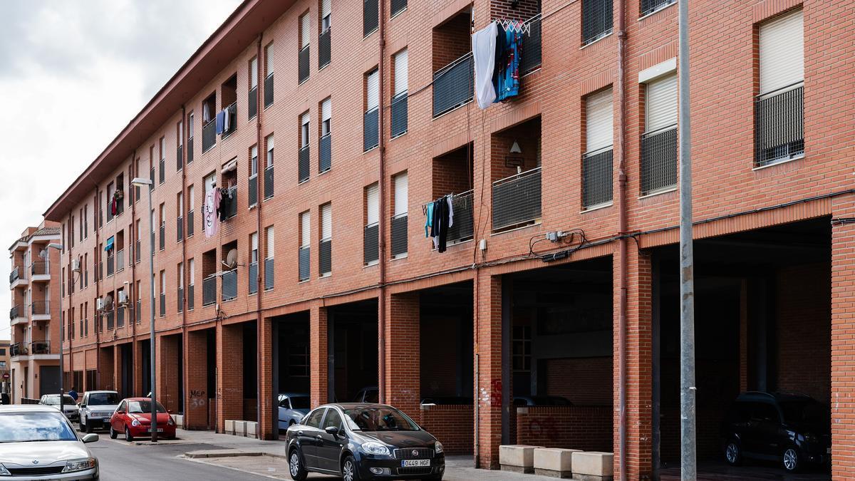 Un grupo de viviendas de titularidad pública en Picassent (Valencia).