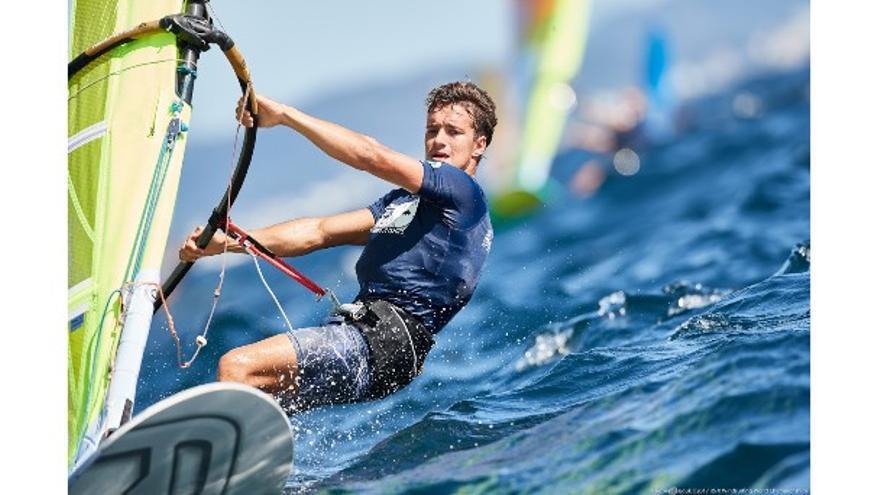 Ángel Granda compite en la cita cumbre de la nueva clase olímpica