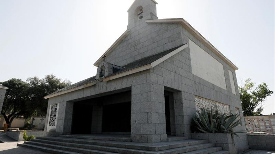 Comienzan los trabajos en el nicho donde el Gobierno quiere enterrar a Franco
