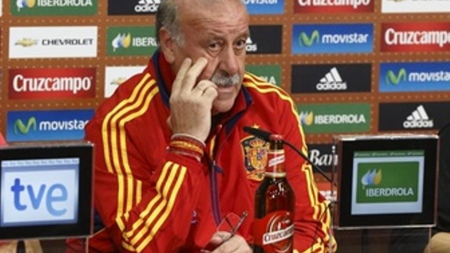 Vicente Del Bosque Rueda De Prensa Selección Española