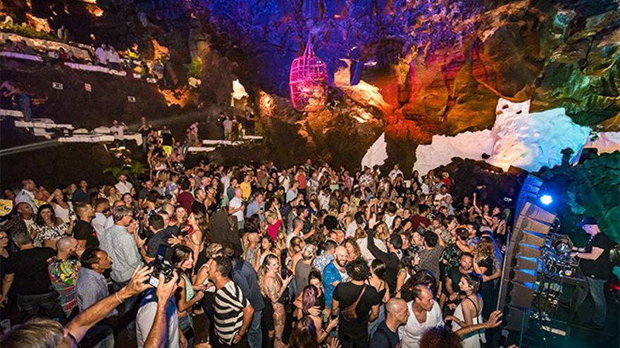 Corujo descarta más ediciones del festival de música electrónica en Jameos del Agu