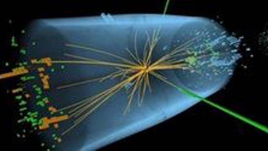 El 'bosón de Higgs. (CERN)