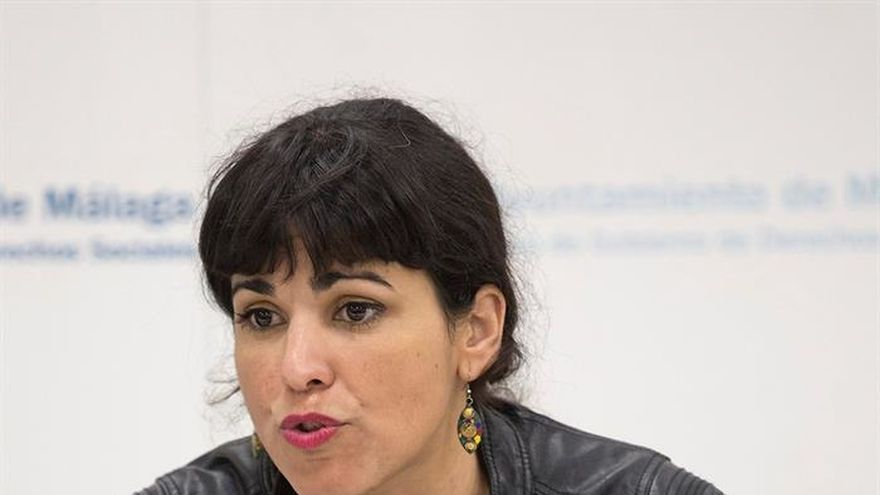 Teresa rodr guez pide que no se imponga la marca podemos for Marca municipales