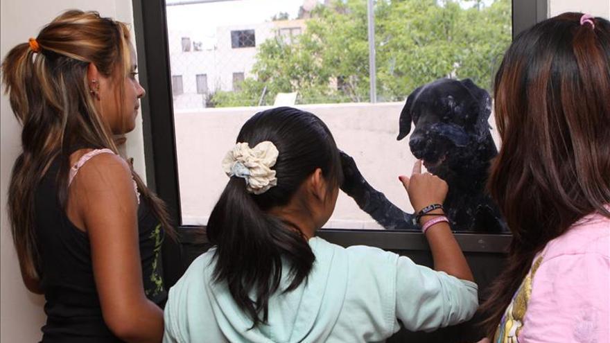 Casi 70.000 niños son víctimas de trata de personas en México según estudio. Imagen de archivo de un centro para mujeres en Ciudad de México.