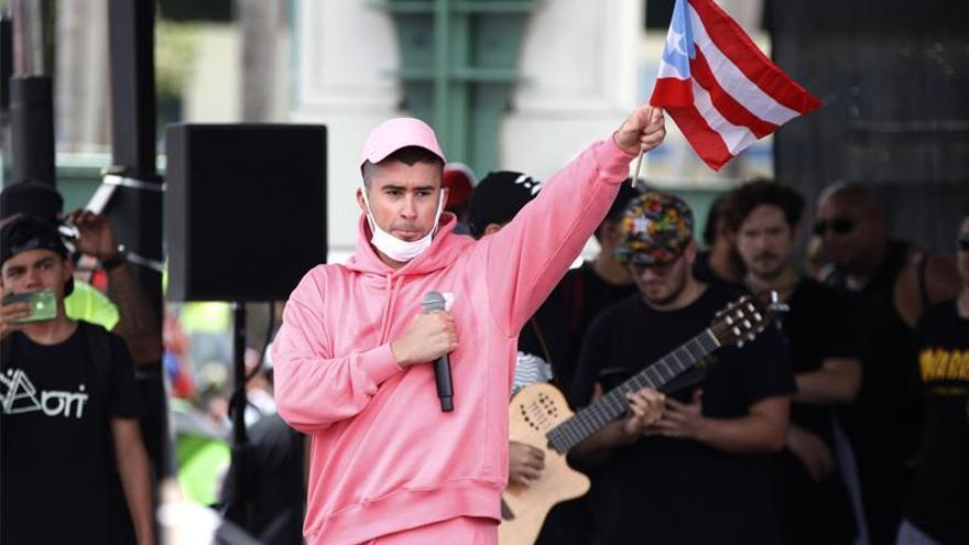 En la imagen, el cantante puertorriqueño Bad Bunny.