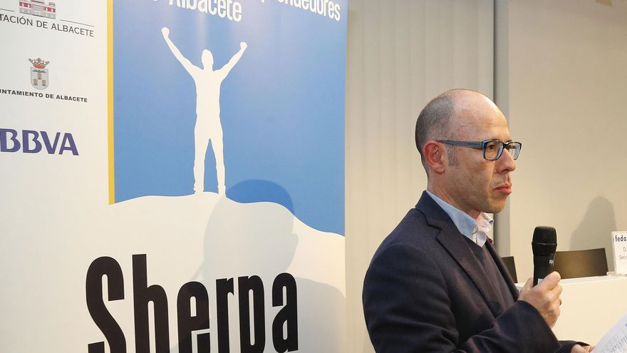 Carlos Muñoz, responsable del Programa Sherpa