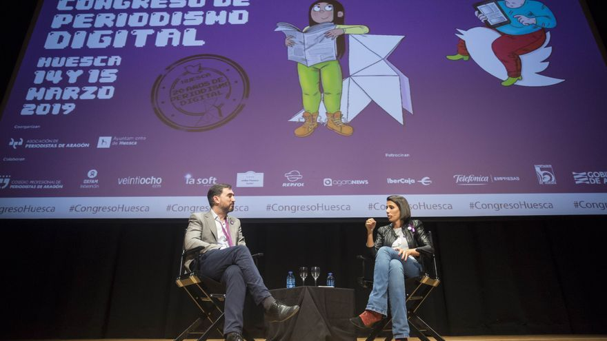 Ignacio Escolar y Ana Pastor