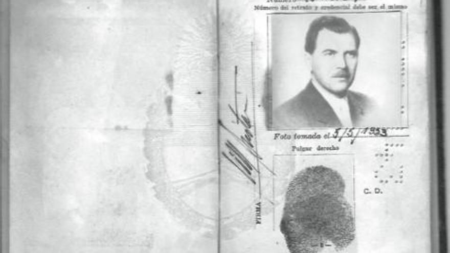 Pasaporte de Mengele en Argentina