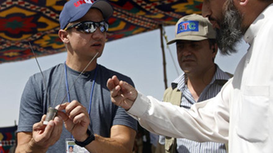 Jeremy Renner, protagonista de En Tierra Hostil