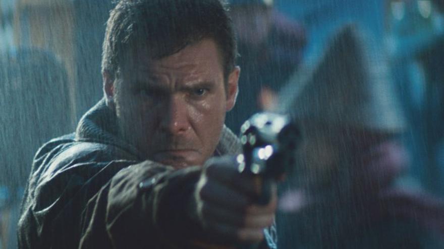 Harrison Ford en la 'Blade Runner' de verdad.