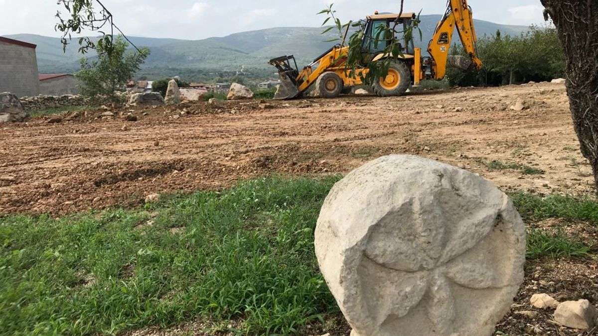 Terrenos en construcción del Parc de la Raboseta.