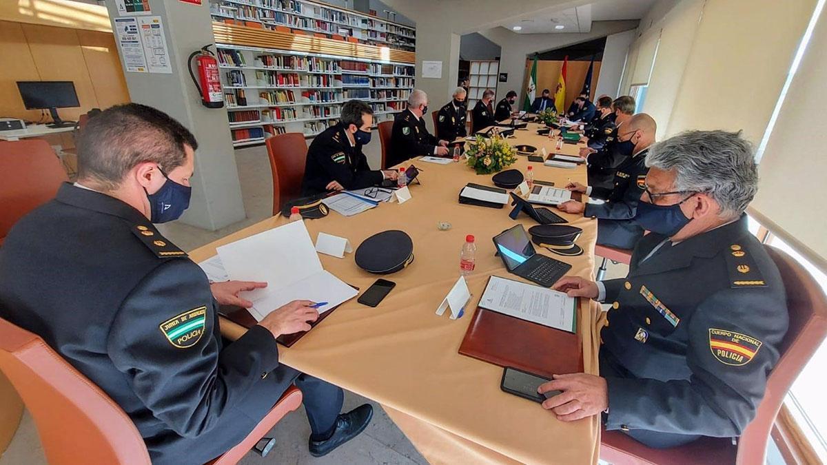 Reunión de la Junta Regional de la Policía Adscrita en Córdoba.