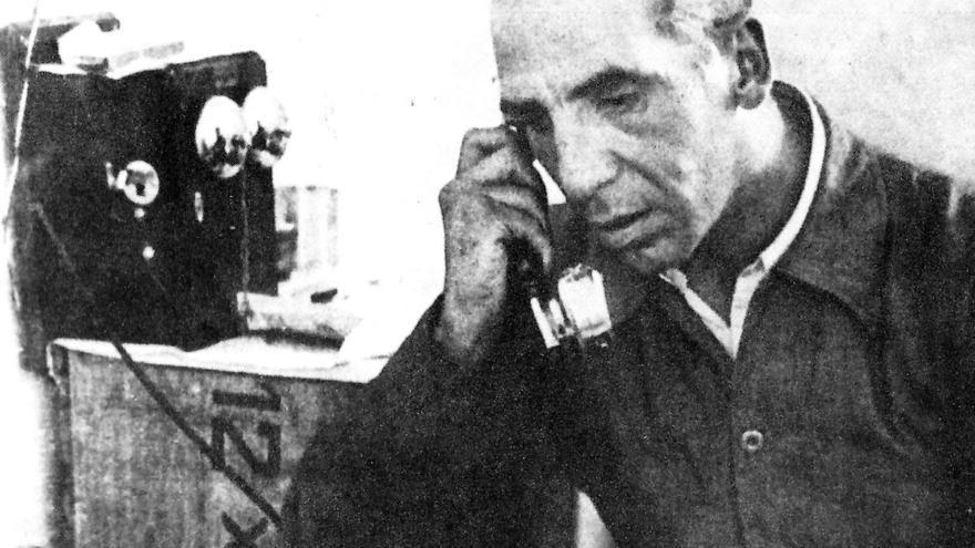 José Villlalba en los primeros días de la Guerra Civil.