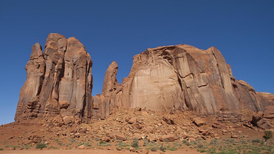 Camel Butte, una de las formaciones rocosas más famosas de Monument Valley. Graeme Maclean