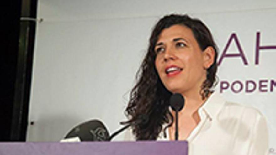 Maria Victoria Matas Podemos Extremadura