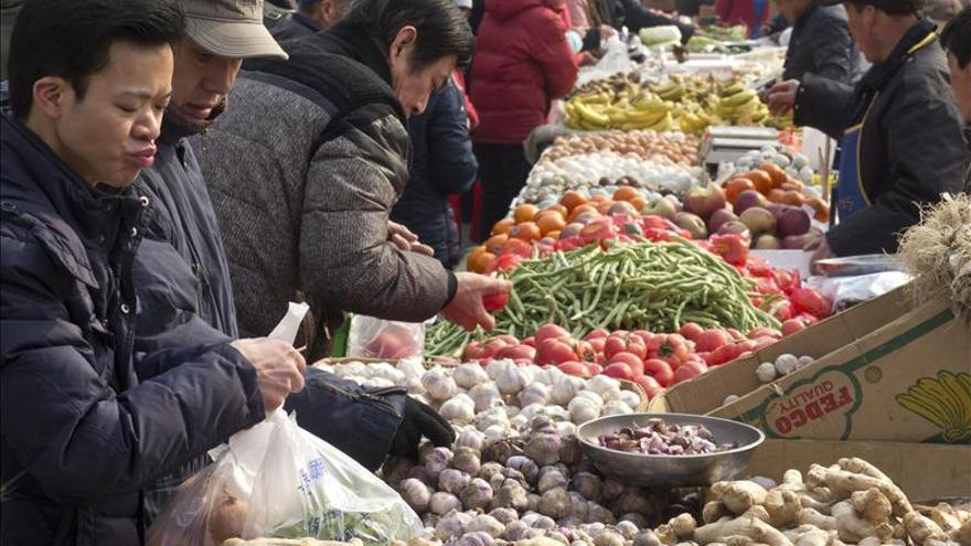 La inflación subió en China un 2,6 por ciento en 2013