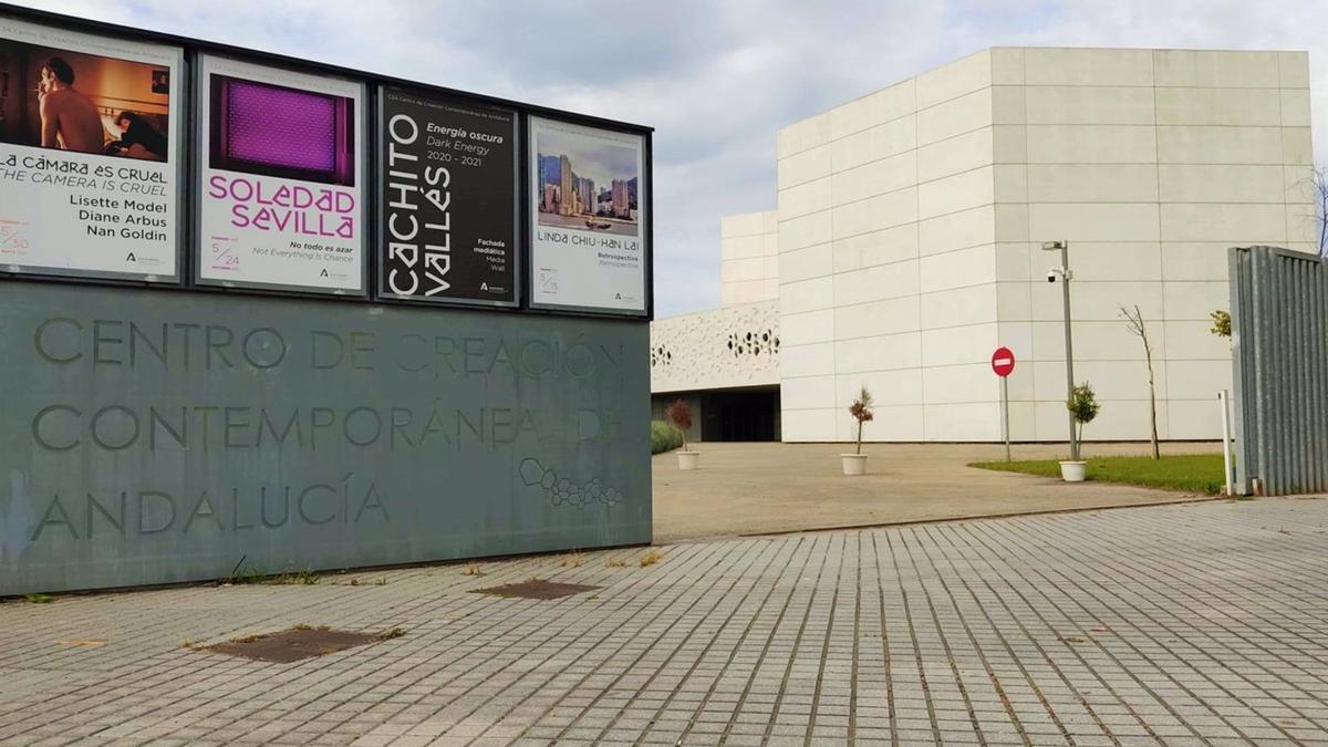 Entrada del Centro de Creación Contemporánea de Andalucía (C3A).