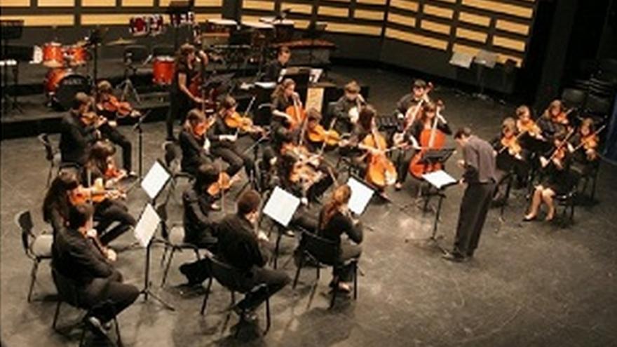 Orquesta del Conservatorio municipal de Puertollano