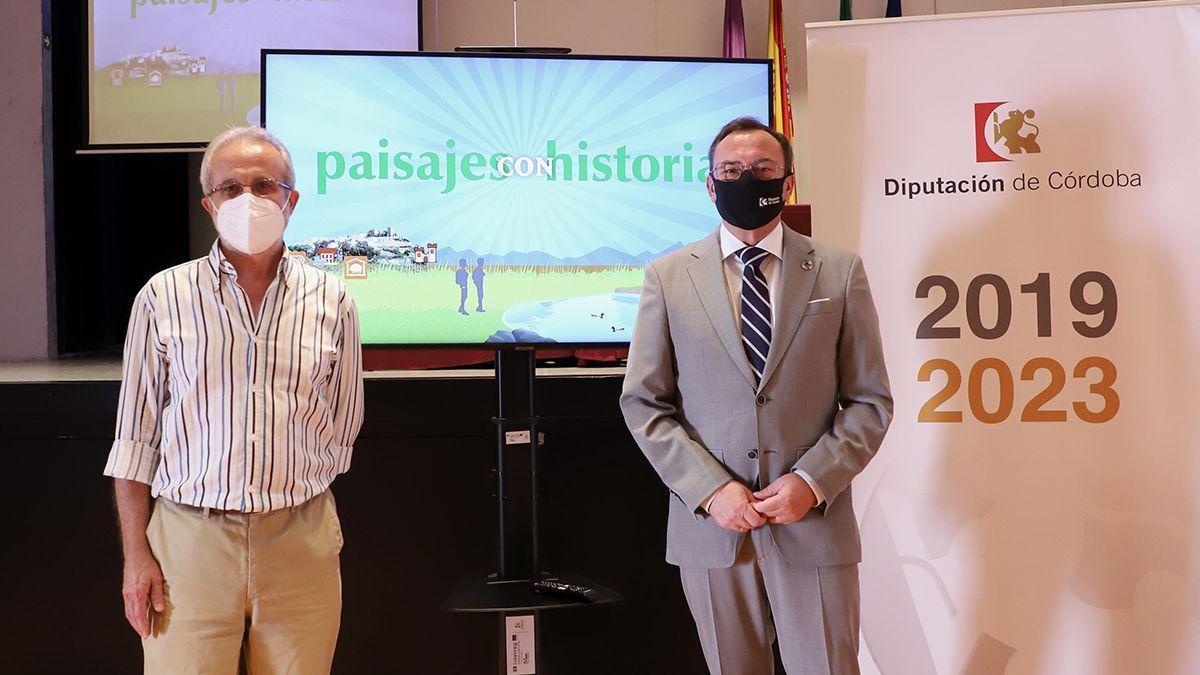 Presentación de 'Paisajes con Historia'.