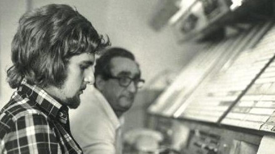 Tomás Vidriales, en el Centro de Control de Canarias, en una fotografía de archivo.