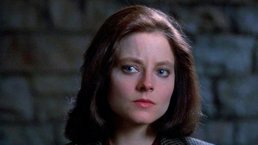 Jodie Foster, en el papel de Clarice en El silencio de los corderos