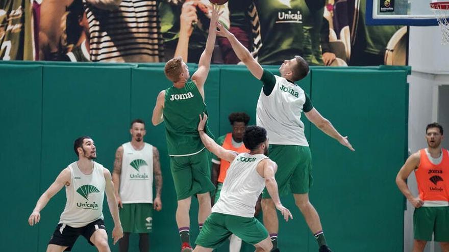 Baloncesto: Unicaja entra en la fase de entrenamiento precompetición