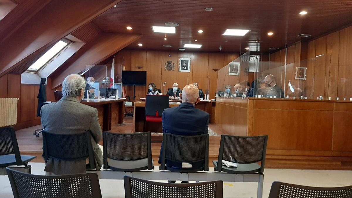 El exalcalde de Noja Jesús Díaz en el juicio por el caso 'Nocanor'