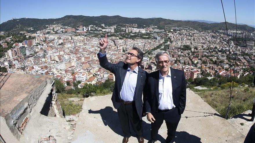 """Mas dice que """"el proceso soberanista está en riesgo si Barcelona nos da la espalda"""""""