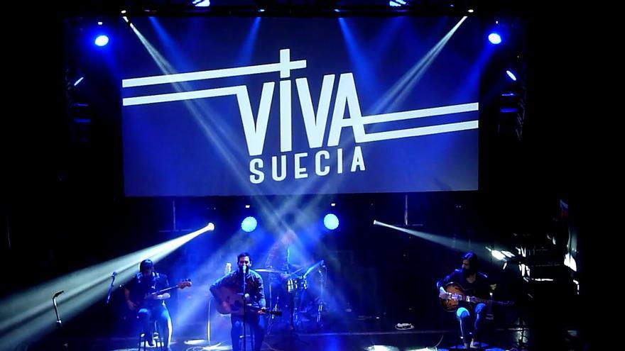 Viva Suecia en concierto