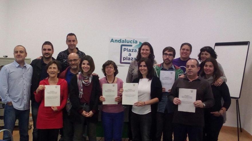 'Andalucía Plaza a Plaza' apuesta por un modelo organizativo en Podemos que refuerce a consejos ciudadanos y círculos