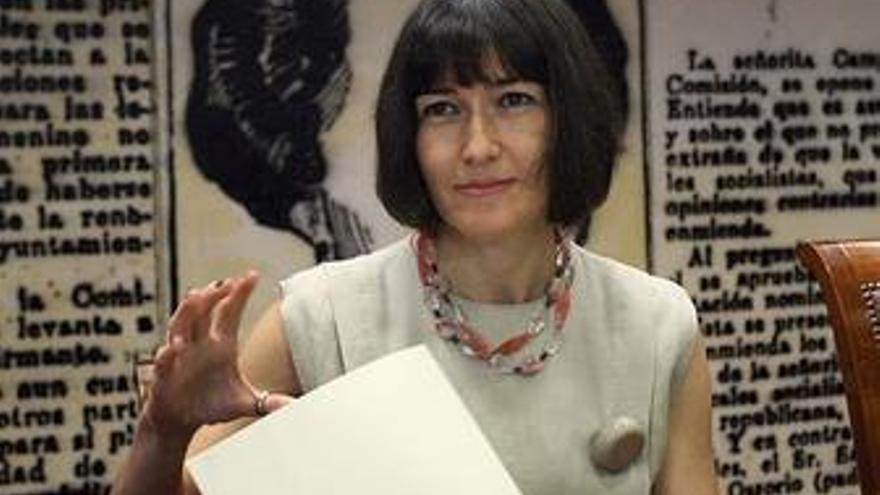 Ministra de Cultura, Ángeles González-Sinde