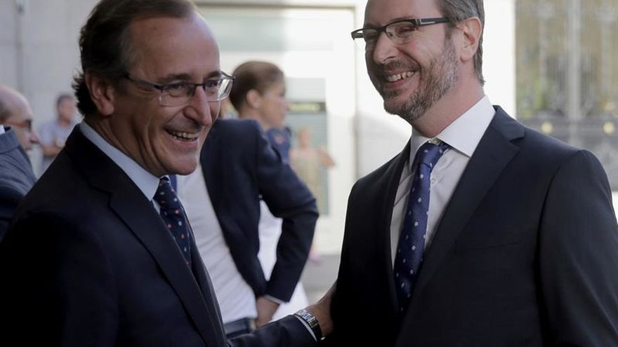 Alfonso Alonso dejará su escaño en el Congreso y será relevado por Maroto