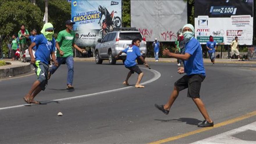 La Policía de Nicaragua detiene a cuatro personas por disturbios en protestas