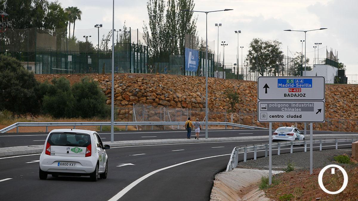 Apertura de un tramo de la Ronda Norte de Córdoba