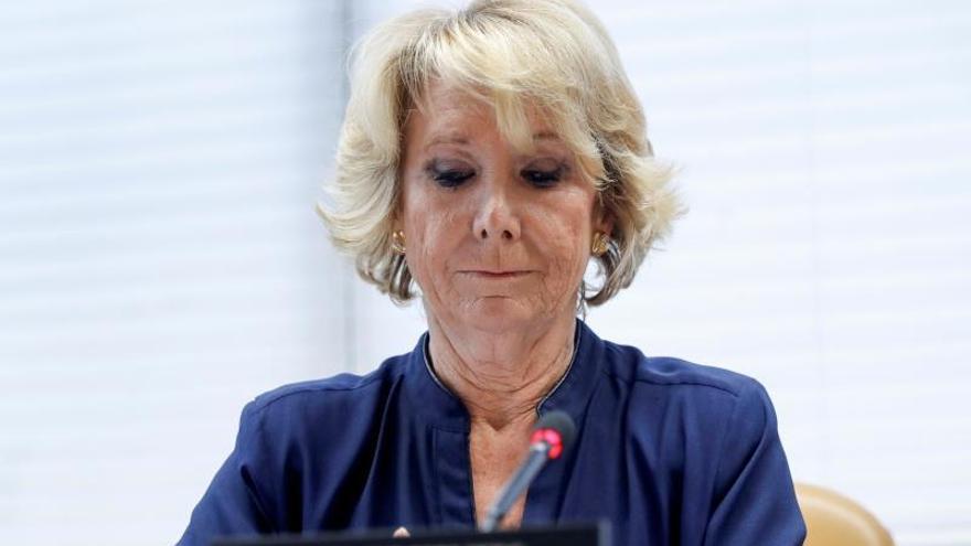 Fiscalía pide imputar a Aguirre y a Cifuentes por financiación ilegal del PP Madrid