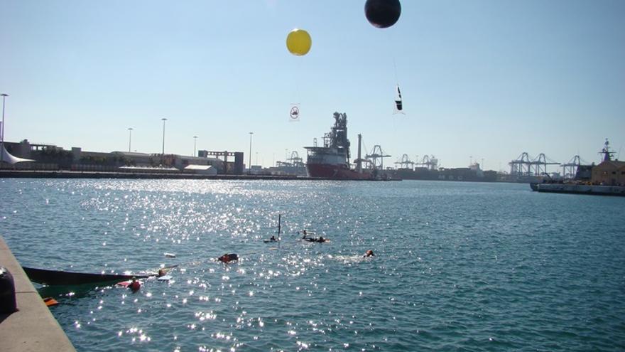 Acción antimilitarista en la Base Naval de Las Palmas de Gran Canaria 4 (Thalía Rodríguez)