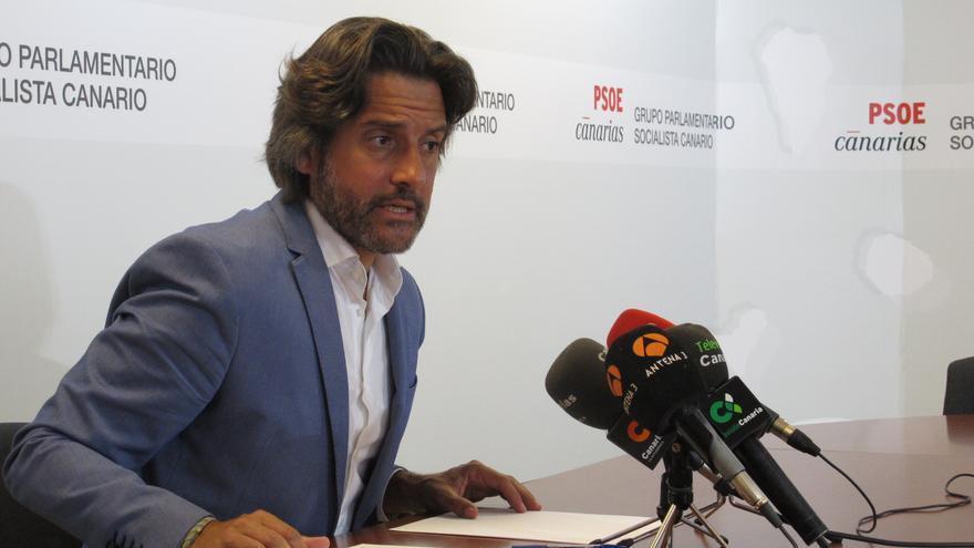 El diputado del PSOE en Canarias, Gustavo Matos.
