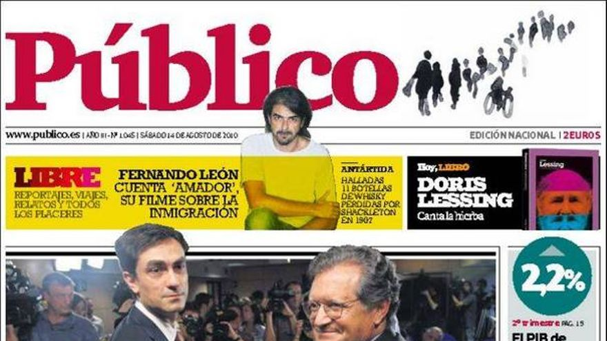 De las portadas del dia (14/08/2010) #12